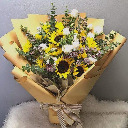 Sunflower Warmth