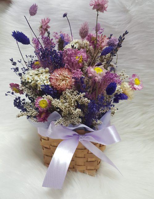 Wildflowers in Basket (W04)