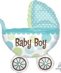 Baby Buggy BLUE (Jumbo) (B30)