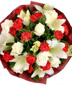 Delightfully Carnations Bouquet (C03)