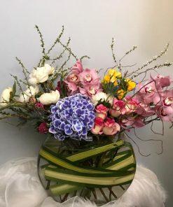 CNY Floral Arrangement in Vase