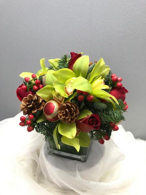 Christmas Flower Arrangement 1