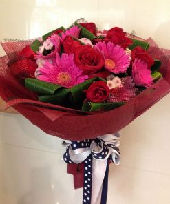 Beautiful Gerberas with Rose (G10)