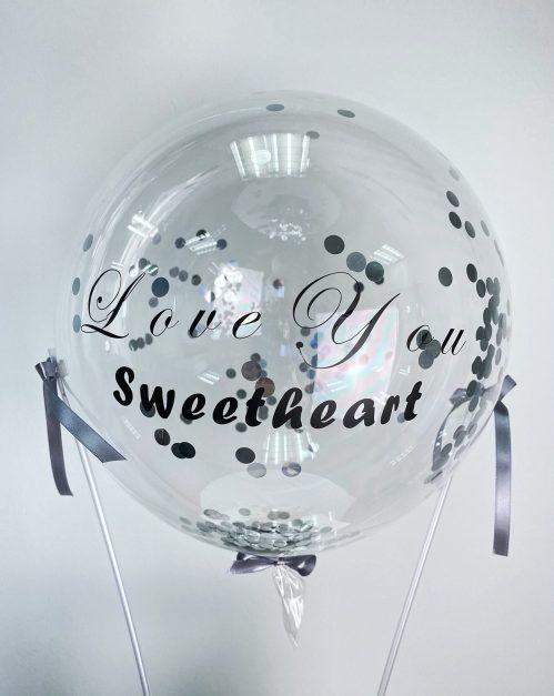 Hot Air Balloon Freestyle Floral Purse
