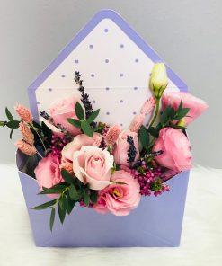 Lilac Envelope Box (E01)