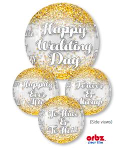 Wedding Confetti Orbz (B40)