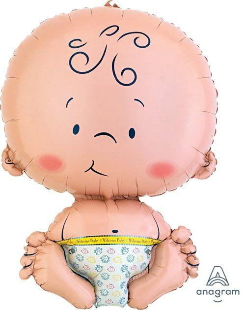 Welcome Baby Boy Jumbo Size (B67)