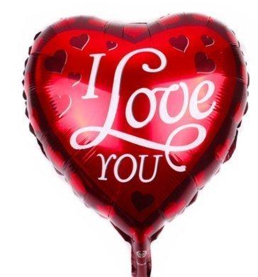 """""""I Love You"""" Balloon (B64)"""