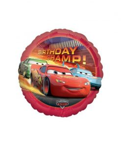 Cars Birthday Balloon