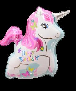 Giant Unicorn Birthday Balloon (B42)