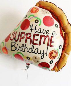 Pizza Birthday Balloon (B45)