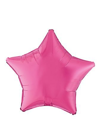 magenta-star-foil-balloon