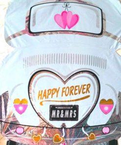 Mr. & Mrs. Happy Forever Foil Balloon (B52)