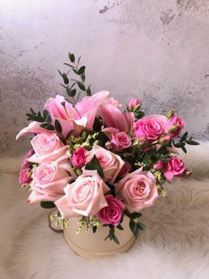 Premium Freestyle Floral Box – Modern