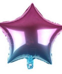 Two-Tone Foil Balloon (B68)