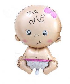 Welcome Baby Girl Jumbo Size (B66)