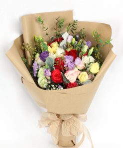 Colourful-Roses-Bouquet
