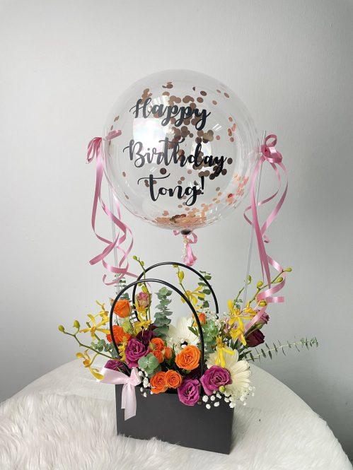 Freestyle Floral Purse (R108)
