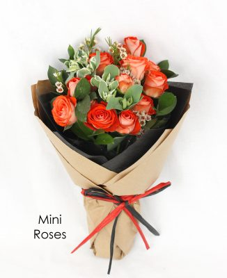 Freestyle Bouquet In Wrapping - Modern