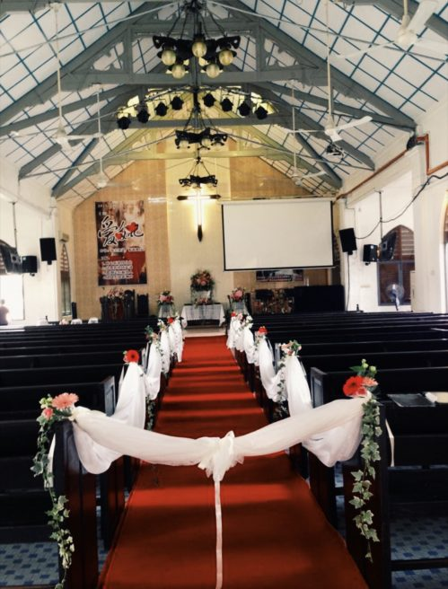Wedding Chair/Pew Decorations (WED10)