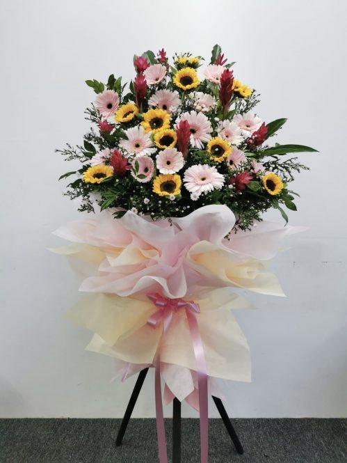 Modern Congratulatory Flower Tripod Stand (CS22)