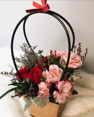 Floral Purse – Rustic